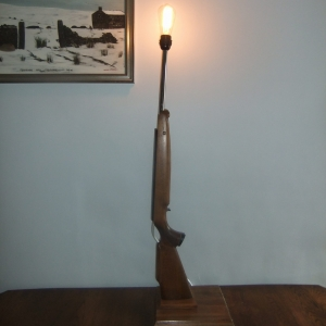 Rifle lamp