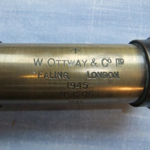 OTTWAY GUN SIGHT TELESCOPE ON STAND