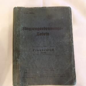 LUFTWAFFE AIRCRAFT RECOGNITION BOOK – 1938